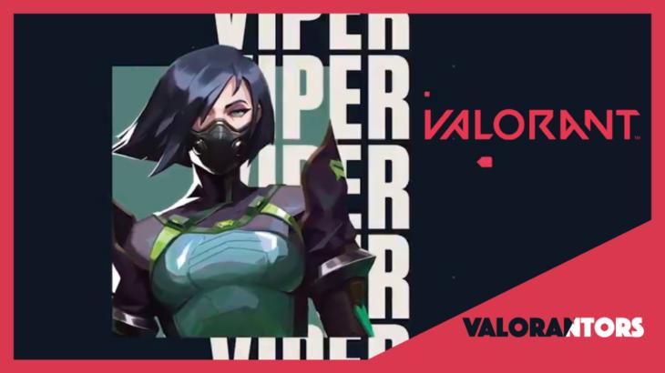 【VALORANT】Viper(ヴァイパー)紹介プレイ映像のサウンドトラックが神曲