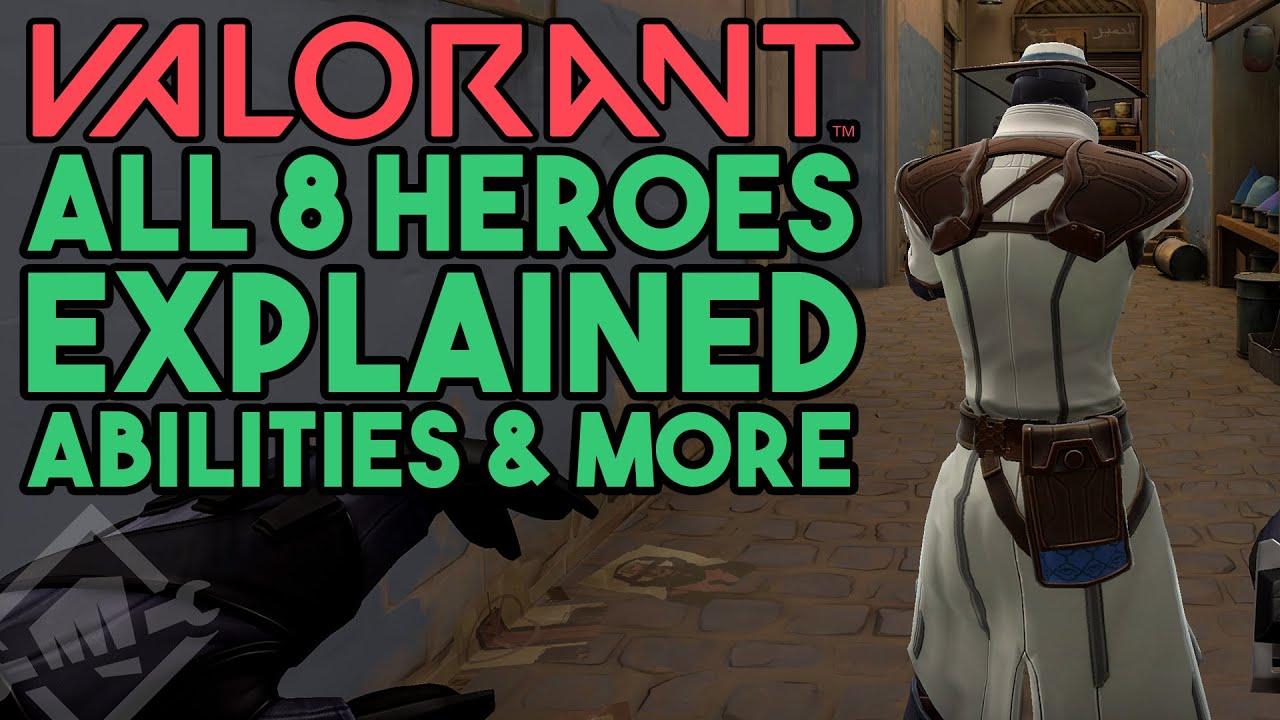VALORANTに登場する8人のヒーロープレイ映像