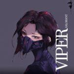 【VALORANT】ヒーロー「ヴァイパー」のファンアート