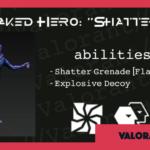 【VALORANT】エージェント「Shatter(シャッター)」がリーク!