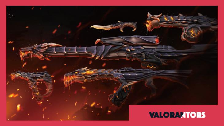 【VALORANT】新武器スキン「エルダーフレイム」のアップグレード一覧 | 動画あり
