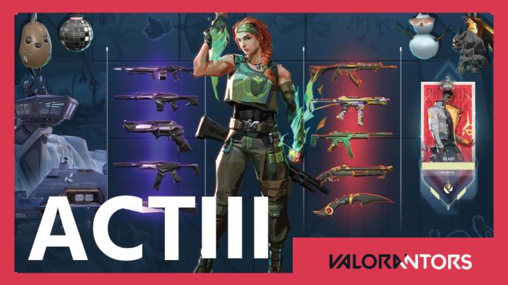 【VALORANT】現在判明しているACT3で追加予定のコンテンツまとめ!ロードマップもお見逃しなく